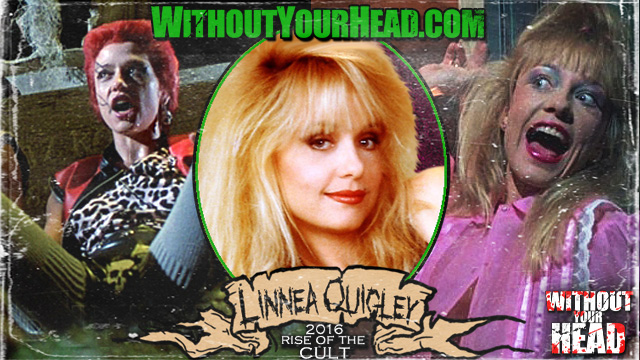 Linnea Quigley, James Schumacher and Ken Knudtsen